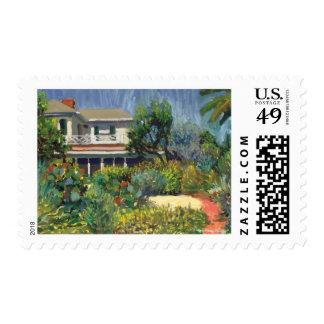 Sandoway House postage stamp