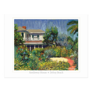 Sandoway House postcard