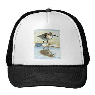 Sandpiper 5, Bird, Ocean, Beach, Nautical, Art Trucker Hat