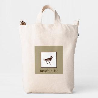 Sandpiper Beach Tote Duck Bag
