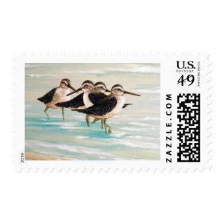 Sandpiper Family Stamp