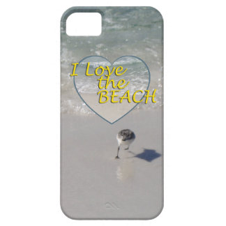 Sandpiper Sands and I Love The Beach iPhone SE/5/5s Case