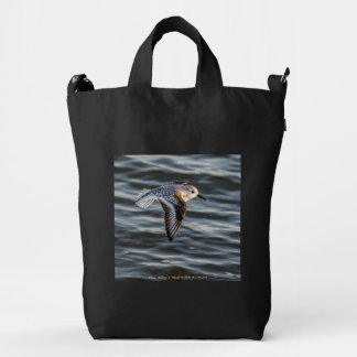 Sandpiper Save Our Shorebirds Bag by RoseWrites
