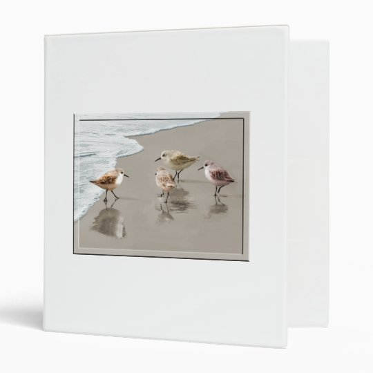 Sandpipers at the Shoreline Binder