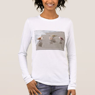 Sandpipers at the Shoreline Long Sleeve T-Shirt