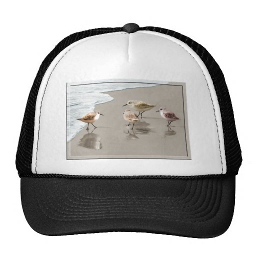 Sandpipers at the Shoreline Trucker Hat