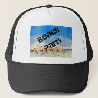 Sandpipers, Beach Trucker Hat