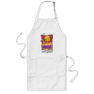 Sandpit Volleyball Gift Long Apron