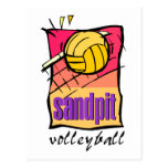 Sandpit Volleyball Gift Postcard