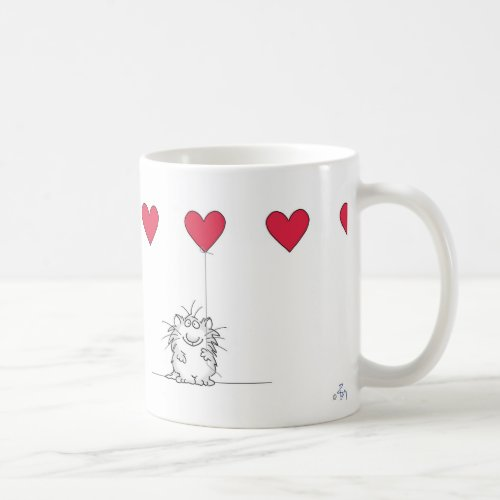 Sandra Boynton LOVE YOU CAT Coffee Mug
