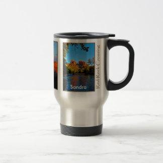 Sandra on Red Rock Crossing Mug