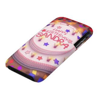 Sandra s Birthday Cake iPhone 3 Case-Mate Case