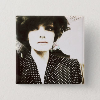 Sandra the Antique Store Display Pinback Button