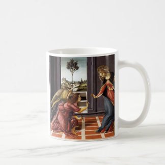 Sandro Botticelli and Annunciation Coffee Mug