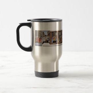 Sandro Botticelli- Baptism of St Zenobius 15 Oz Stainless Steel Travel Mug