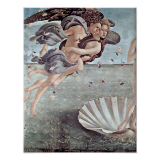Sandro Botticelli - Birth of Venus Detail Posters