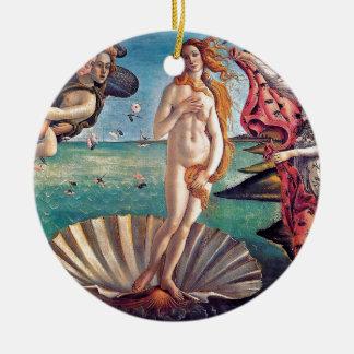 Sandro Botticelli - Birth of Venus - Fine Art Ceramic Ornament