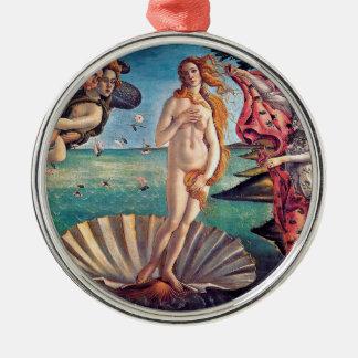 Sandro Botticelli - Birth of Venus - Fine Art Metal Ornament