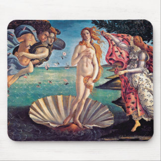 Sandro Botticelli - Birth of Venus - Fine Art Mouse Pad