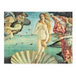 Sandro Botticelli Birth of Venus Postcard
