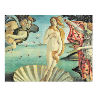 Sandro Botticelli Birth of Venus Postcard