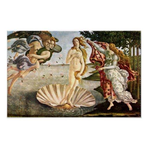 Sandro Botticelli-Birth of Venus Poster