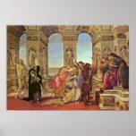Sandro Botticelli - calumnia de Apelles Impresiones