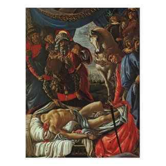 Sandro Botticelli:Discovery of Body of Holofernes Postcard