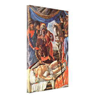 Sandro Botticelli - Discovery of the Holofernes Canvas Print