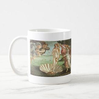 Sandro Botticelli el nacimiento de Venus Tazas De Café