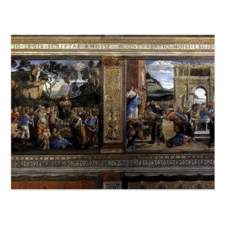 Sandro Botticelli: Escena a partir de la vida de M Postal