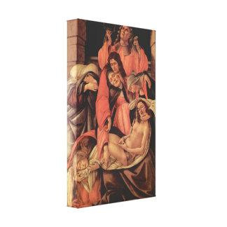 Sandro Botticelli - Fortitude Canvas Print