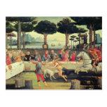 Sandro Botticelli: Historia de Nastagio Degli Ones Postales