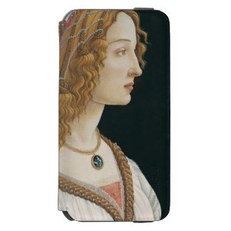 Sandro Botticelli - Idealized Portrait of a Lady iPhone 6/6s Wallet Case