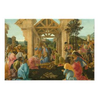 Sandro Botticelli - la adoración de unos de los Fotografías