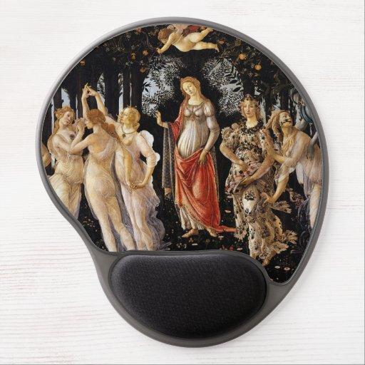 Sandro Botticelli - La Primavera Gel Mouse Pad