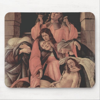 Sandro Botticelli-Lamentation over the Dead Christ Mouse Pad