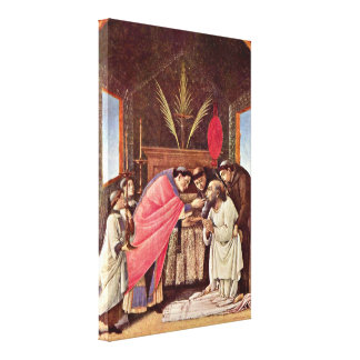 Sandro Botticelli - Last Communion of StJerome Canvas Print