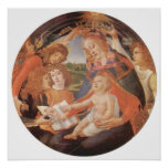 Sandro Botticelli-Madonna el magnífico Poster
