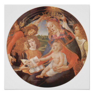 Sandro Botticelli-Madonna the Magnificent Posters