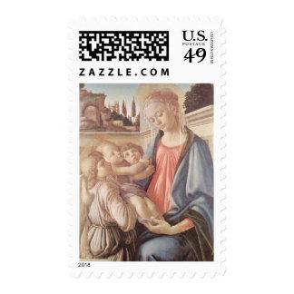 Sandro Botticelli Madonna y niño Sello