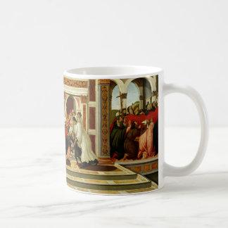 Sandro Botticelli - milagro pasado y la muerte de Taza Clásica