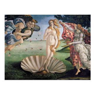 Sandro Botticelli - nacimiento de las postales de