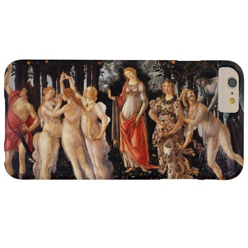 Sandro Botticelli Primavera Fine Art Barely There iPhone 6 Plus Case