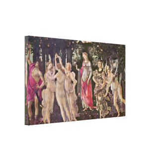 Sandro Botticelli - primavera Primavera Lienzo Envuelto Para Galerias
