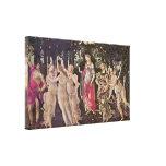 Sandro Botticelli - primavera (Primavera) Lienzo Envuelto Para Galerias