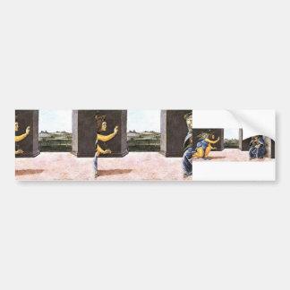 Sandro Botticelli- The Annunciation Car Bumper Sticker