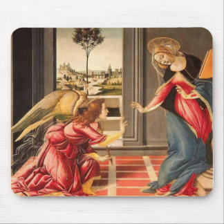 Sandro Botticelli - The Annunciation Mouse Pads