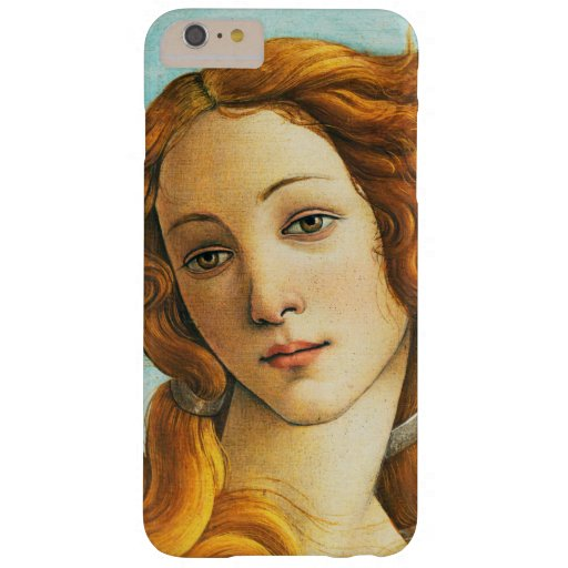 Sandro Botticelli The Birth of Venus Face Detail Barely There iPhone 6 Plus Case