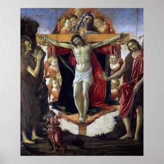 Sandro Botticelli - The Holy Trinity Poster